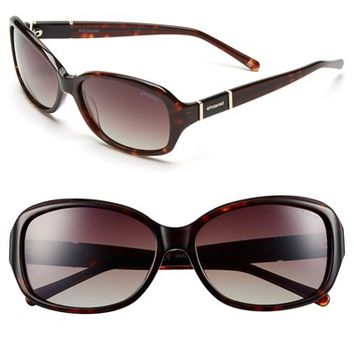 Women's Polaroid Eyewear 56mm Retro Sunglasses