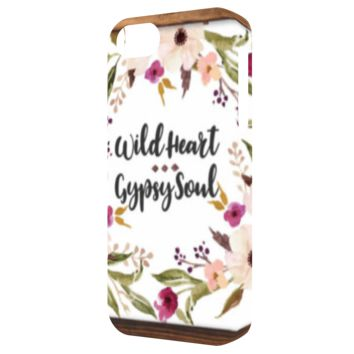 Wild Heart Gypsy Soul - iPhone 5 Tough Case
