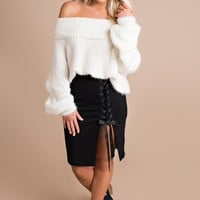 Warm And Cozy Sweater (Off White)