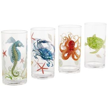 Speedy & Friends Acrylic Tumbler Set