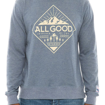 The Era Crewneck Sweatshirt in Blue