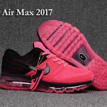 Nike Air Max 2017 KPU Pink & Black Women's Running Shoes Sneakers