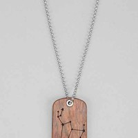 Omerica Organic Constellations Necklace - Taupe One