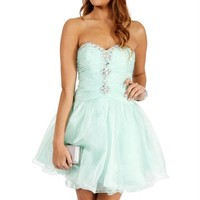 Bobbi-Mint Prom Dress