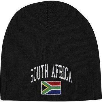 Licensed Sports Team South Africa Knit Hat KO_20_2