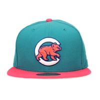 Chicago Cubs Teal, Solar Red, Ink, White 59fifty 5950 New Era