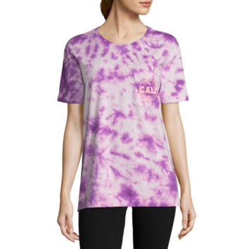 "Flirtitude ""Palm Springs, Cali"" Graphic T-Shirt- Juniors - JCPenney"