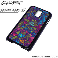 Floral Flower Purple Forest Case For Samsung Galaxy S5 Case