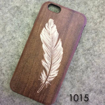 Feather Case Cover for iphone 6 6s Plus Gift 221