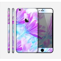 The Vibrant Blue & Purple Flower Field Skin for the Apple iPhone 6 Plus