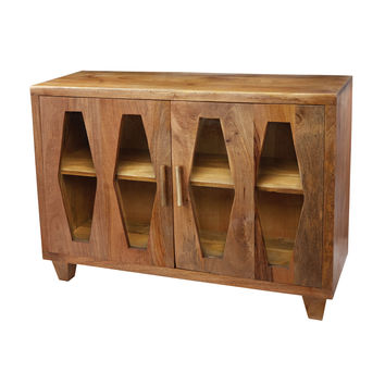 Lazy Susan Retro Diamond Cabinet - 985-005