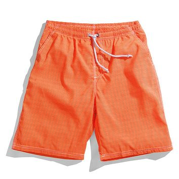 Summer Quick Dry Loose Striped Men And Women short