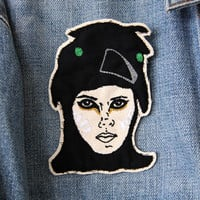 Suzy Bishop Embroidered Patch/Brooch