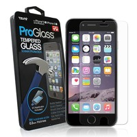 iPhone 5 Screen Protector, 5 / 5C / 5S - ProGlass by Tzumi: Premium HD Tempered Glass Screen Protector w/ Easy Applicator - Maximum Protection, UltraThin & BubbleFree (iPhone 5 / 5C / 5S)