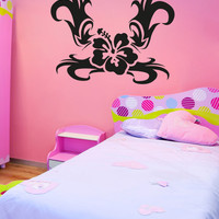 Vinyl Wall Decal Sticker Tribal Flower #OS_AA271
