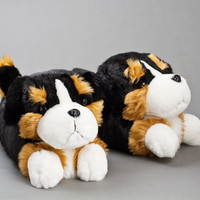 Bernese Mountain Dog Slippers | Dog Slippers, Animal Slippers | BunnySlippers.com