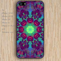 iPhone 5s 6 case purple trippy ball Mandala phone case iphone case,ipod case,samsung galaxy case available plastic rubber case waterproof B345