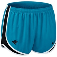Nike Carolina Panthers Women's Tempo Performance Running Shorts - Panther Blue