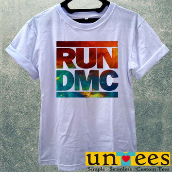 Low Price Women's Adult T-Shirt - Run DMC Hip Hop Rapper design