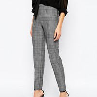 Mango Heritage Check Tailored Trouser at asos.com