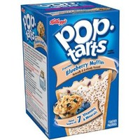 Kellogg's Limited Edition Frosted Blueberry Muffin Pop-Tarts, 8ct Pack Of 6