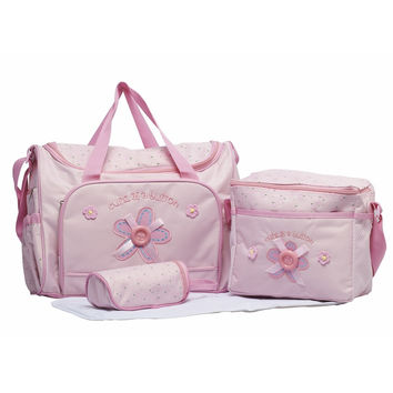 Free shipping new 2016 nappy mummy bag print maternity handbag diaper bags baby tote