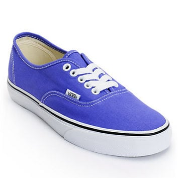 Vans Women's Authentic Purple Iris Shoe