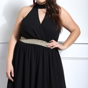 Make your Evening Flare Plus Size A-line Dress