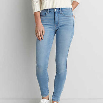 AEO Denim X4 Hi-Rise Jegging, Starry Bright