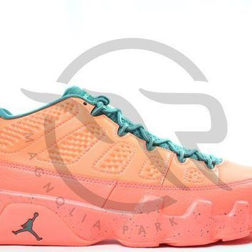 PEAPUX5 AIR JORDAN RETRO 9 LOW - BRIGHT MANGO