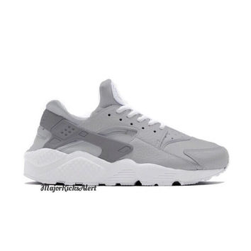 SALE 20% OFF Grey Custom Hand Painted Nike Huaraches  6d0291bd6