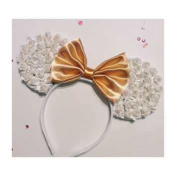 White Rose Mouse Ears