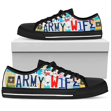 Army Wife Low Top