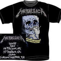Metallica T-Shirt - World Magnetic Tour Soiree