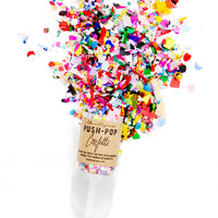 Confetti Push Pop