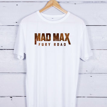 mad max poster art Tshirt T-shirt Tees Tee Men Women Unisex Adults