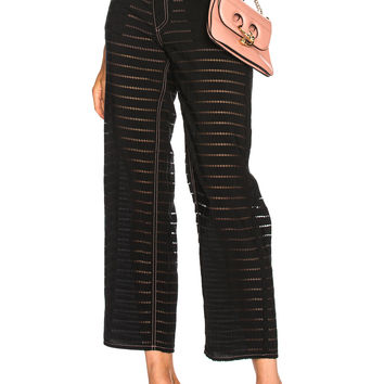 fleur du mal Burnout Pant in Zig Zag Burnout | FWRD
