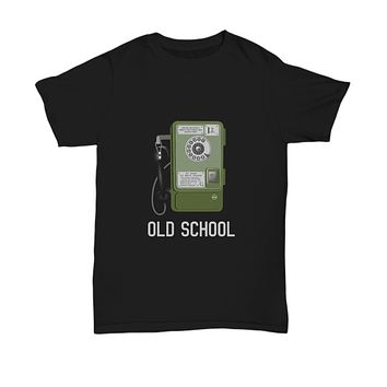 Old School Vintage Phone Rotary Classic T-Shirt
