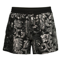 H&M Sequined Shorts $49.95
