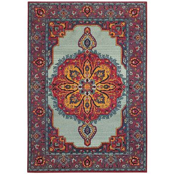 Area Rug by Oriental Weavers Bohemian Collection 3339M