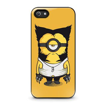 WOLVERINE MINIONS iPhone 5 / 5S / SE Case Cover