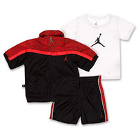 Boys' Toddler Jordan 3-Piece Jumpman Tee Set