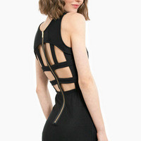Cylon Caged Bodycon Dress $29