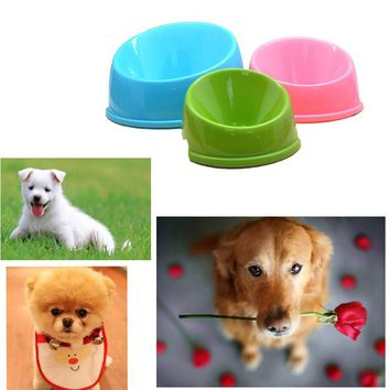 2017 Pet Puppy Cat Dog Food Bowl Drink Water Dish Feeder Drinking Bowls Cat Food Dispensers Bebedouro Para Cachorro Hot selling