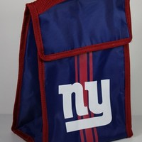 NFL New York Giants Velcro Lunch Bag