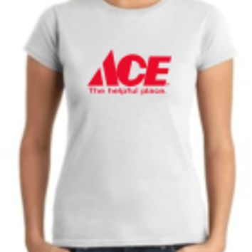 Ace Hardware T-Shirt Female - $24.95 : Custom Name Badges and Name Tags, Recognition Specialties Inc.