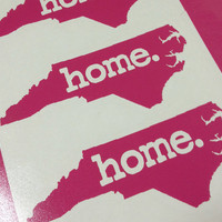 NC Home. Vinyl car decal