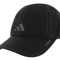 adidas Men's Adizero Stretch Cap (Black/Grey, Large/X-Large)