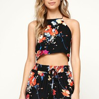 House of Harlow Goddess Top - Womens Shirts - Floral