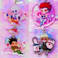 "Hunter x Hunter Acrylic Charms 1.5"" by Yaoiscum"